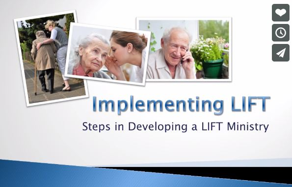 LIFT: helping believers care for the elderly