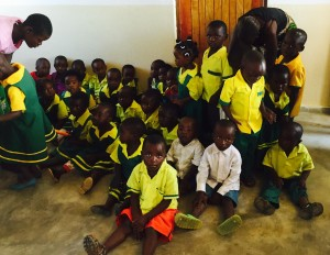 (Photo Courtesy Force for Christ) Malawian orphans who met Force for Christ workers during a field visit to the country.