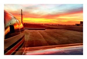 (Photo courtesy Adam Reeder via Flicker) Aviation sunset.