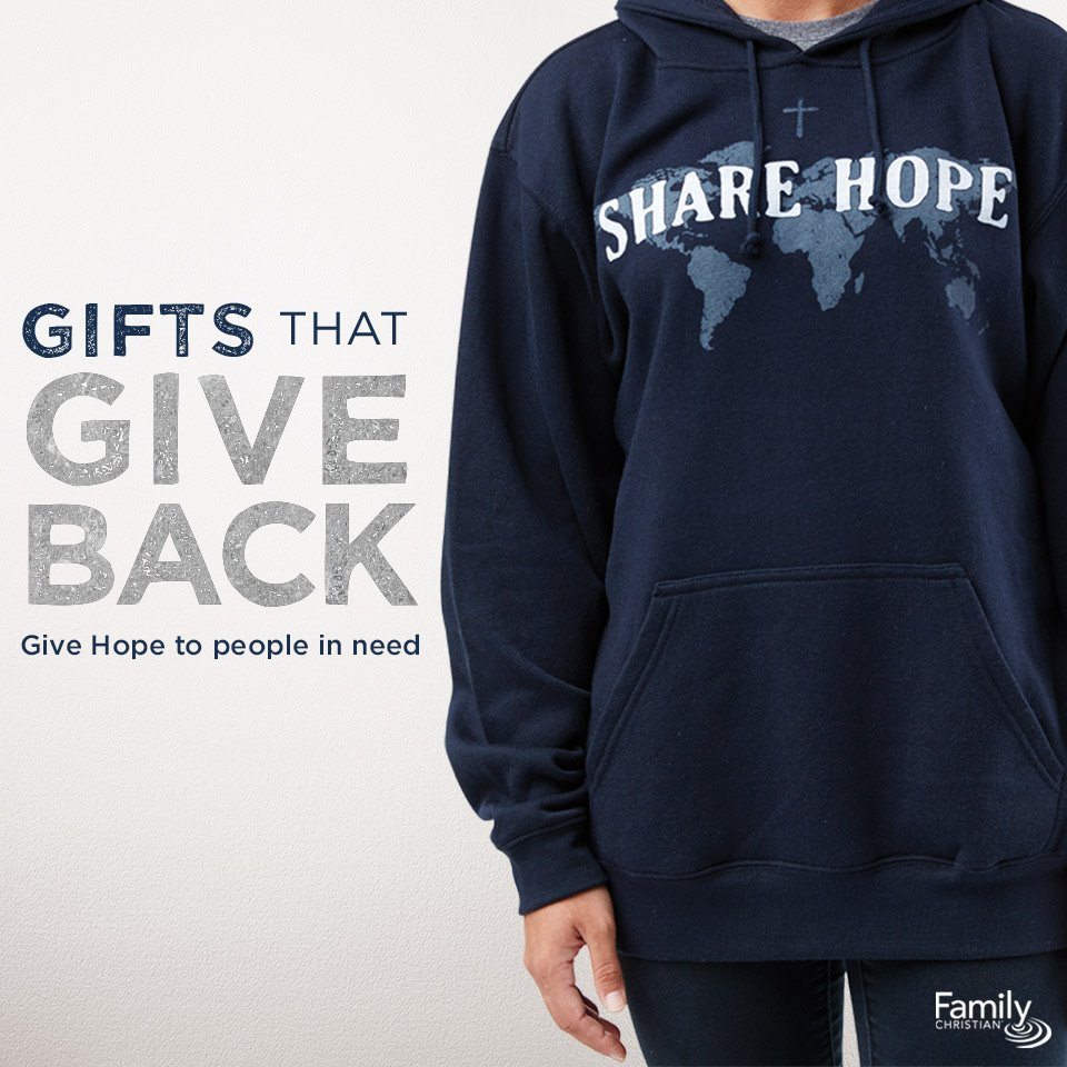 Give hope by buying a gift