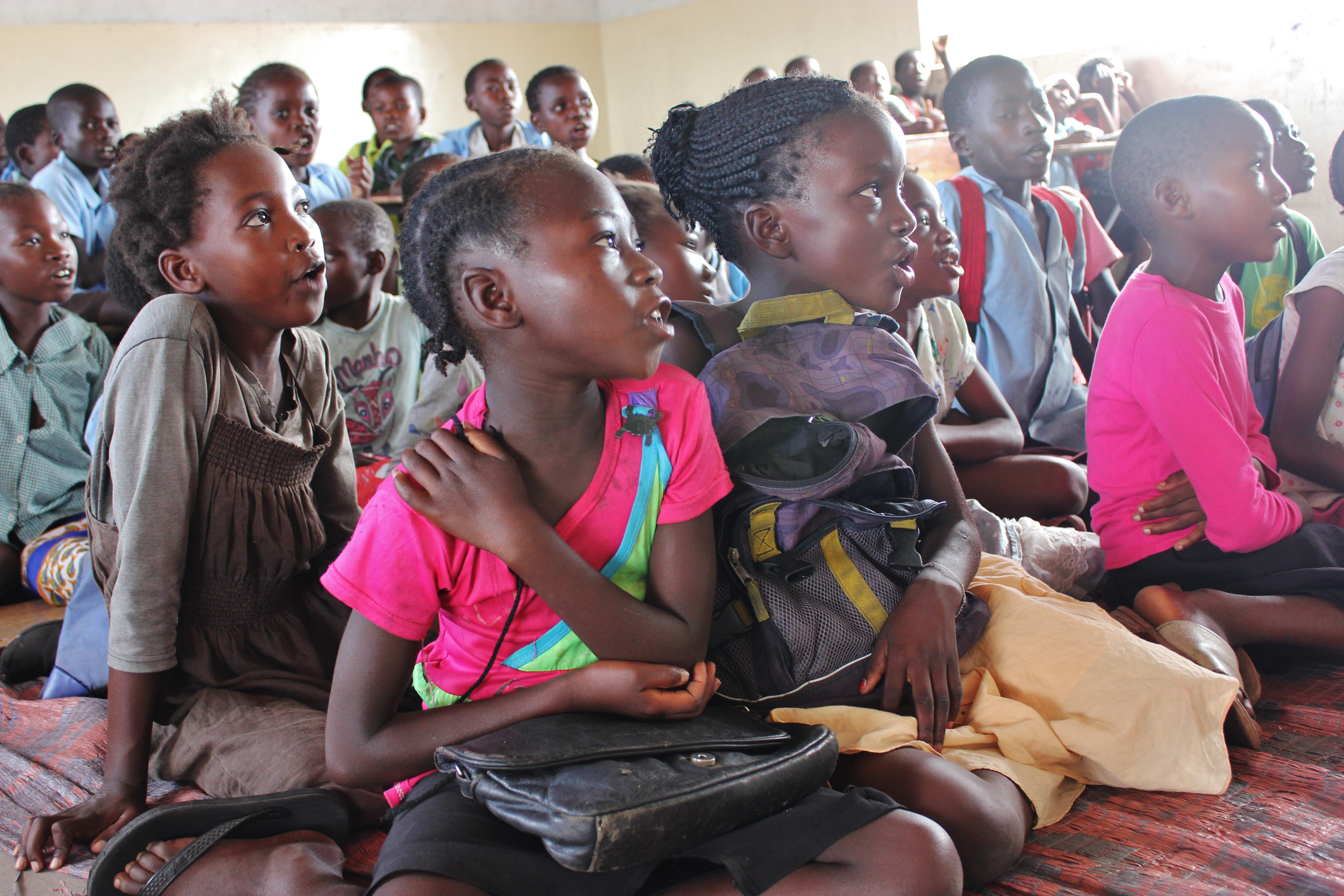 A prayer for more children to be rescued in Zambia