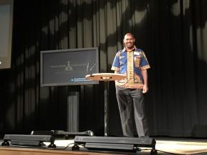 Paul Njatha, speaker for DOOR (Image courtesy of DOOR International).