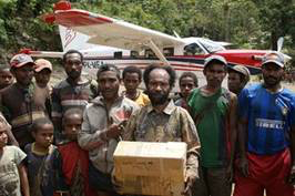 Airstrip Puts Commodities and Christ in Villagers' Backyard
