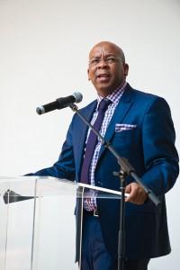 Current Tshwane Mayor, Mr. Kgosientso Ramokgopa (Photo courtesy of mLab Southern Africa via Flickr)