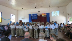 Bible Dedication Celebration (Caption and Photo courtesy of MAF)