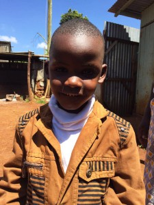 Njoroge is happy to have a chance to learn his own language.