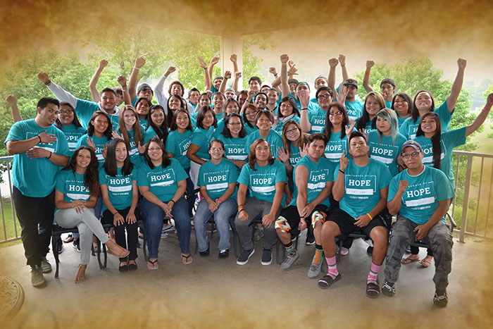 Native American team committing summer to ministry