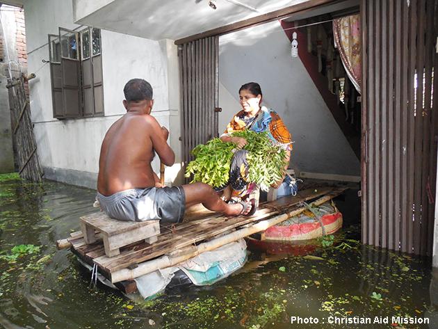 Bangladeshi monsoons wreak havoc