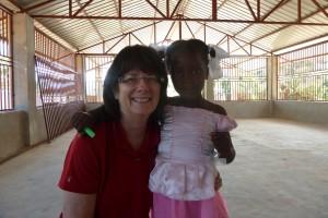 Karen and Friend in Haiti