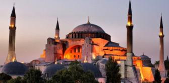 Hagia Sophia in Turkey (Photo courtesy of David Spender via Flickr)