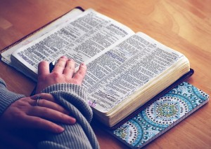 """""""A missionary encouraged her to read her Bible."""""""