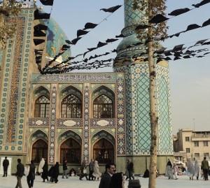 A mosque in Tehran, Iran.