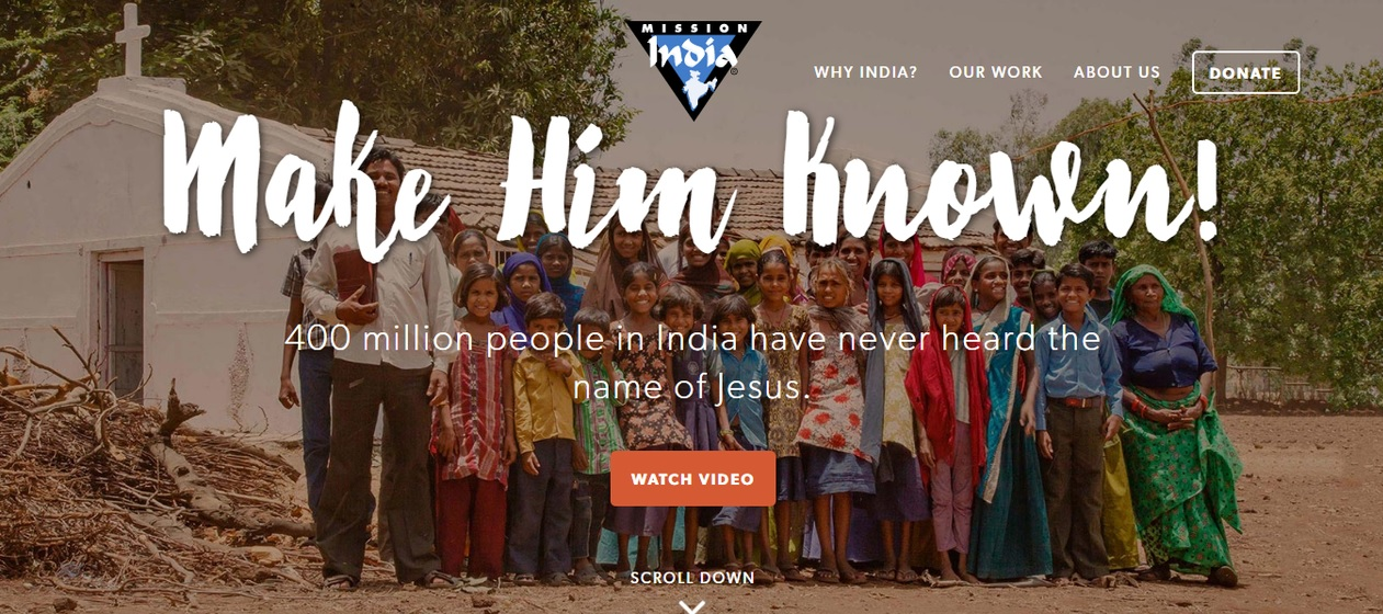 New website propels ministry in India
