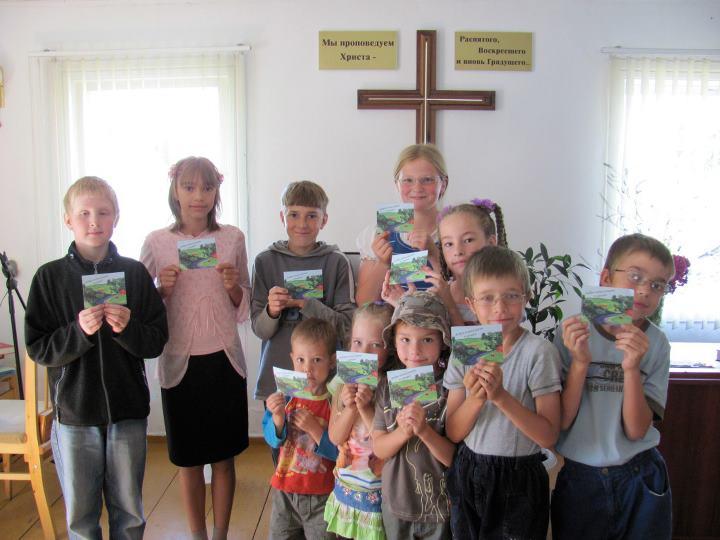 Summer camps bring Gospel to former Soviet Union