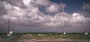(Bonaire antennas, Image capture courtesy TWR)