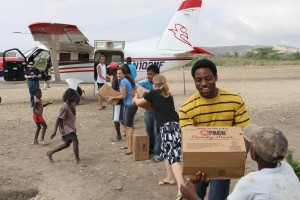 Following the 2010 earthquake in Haiti, MAF conducted more than 1,000 relief flights in three months. (Caption and photo courtesy of MAF)
