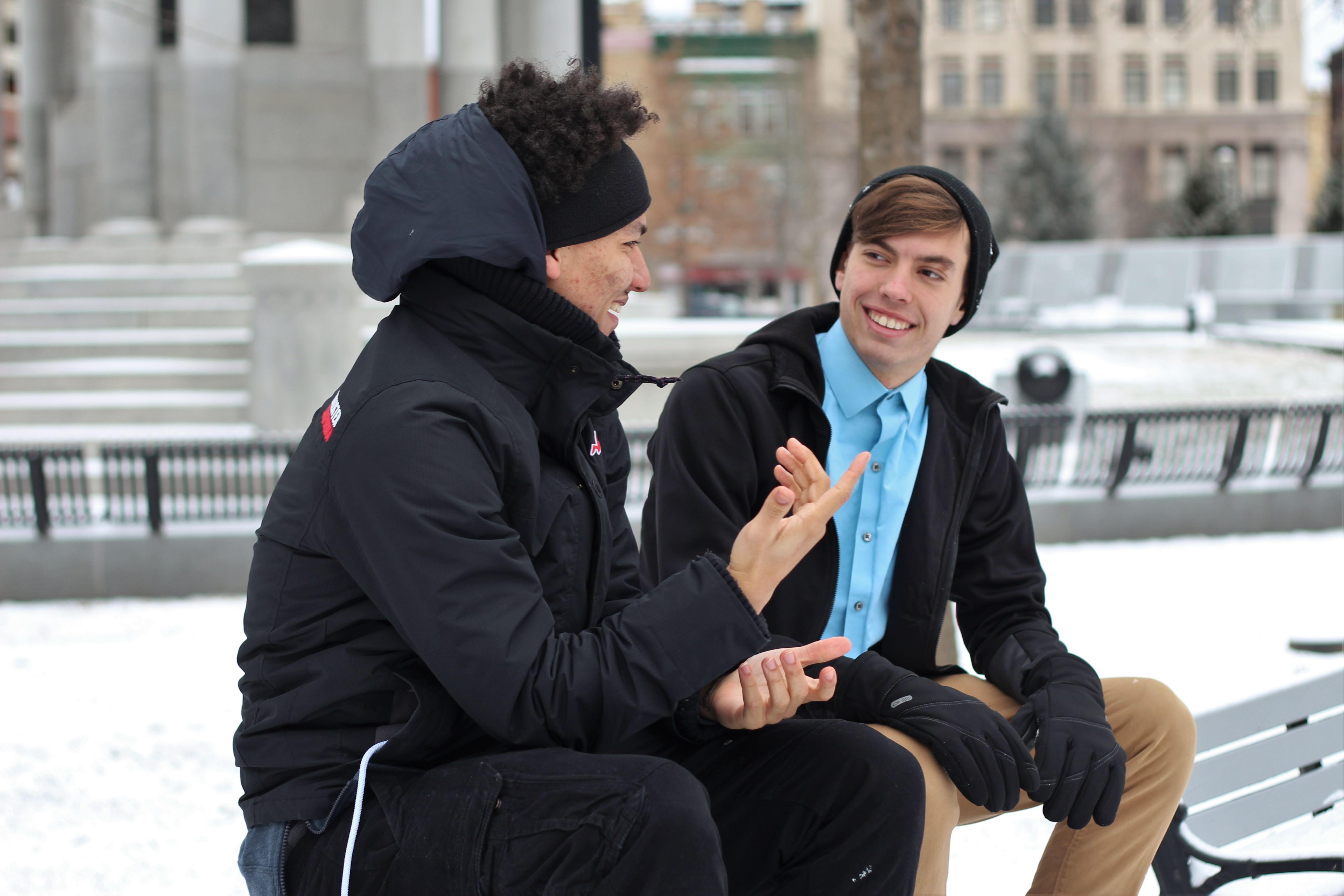 Sharing stories, sharing the Gospel