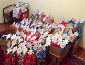(Photo Courtesy SGA via Facebook) Immanuel's Child gifts.
