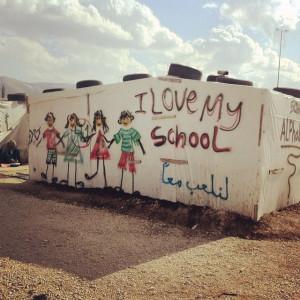 (Photo courtesy of Tent Schools International).