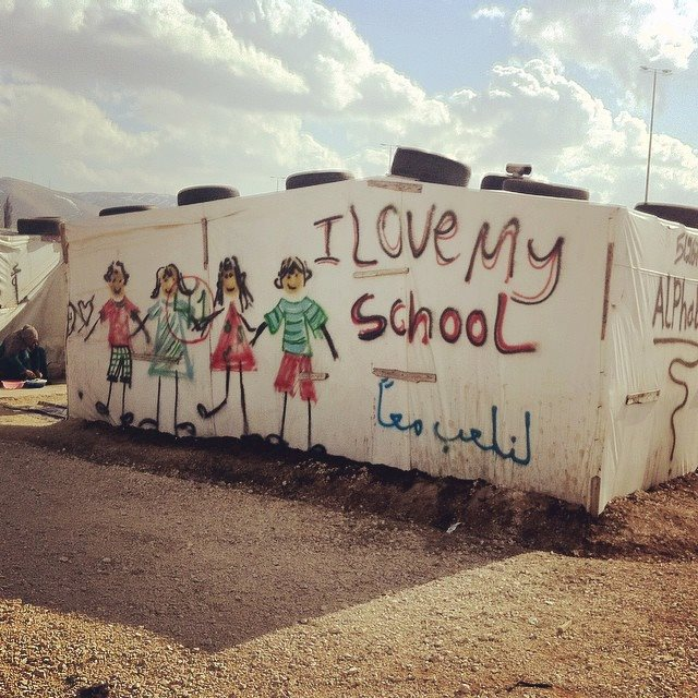 Giving displaced children hope through education
