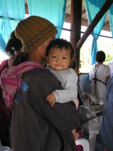 At a Karen refugee camp (Photo courtesy of Vision Beyond Borders).