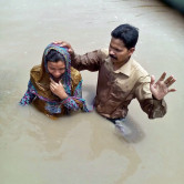 (Photo Courtesy FMI for MNN use.) Baptism 01 in Pakistan.