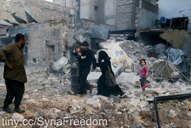 In Aleppo's rubble, Muslims and children meet Christ