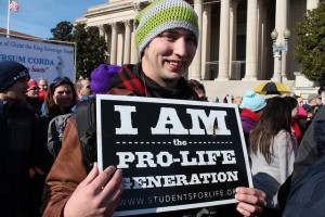 Photo from the 41st March for Life in 2015. (Photo courtesy of Elvert Barnes via Flickr under Creative Commons 2.0 Generic: https://goo.gl/Ie0iBo)