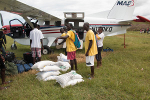 MAF relief efforts in Haiti after Hurricane Matthew. (Photo courtesy of MAF)