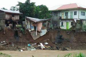 Flooding and landslides have destroyed thousands of homes in the Philippines. (Photo courtesy of World Mission)