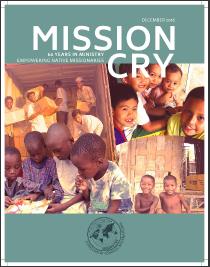 Mission Cry Magazine (Image courtesy of Christian Resources International).