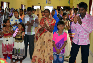 Rejoicing in the Lord. (Photo courtesy of India Partners)