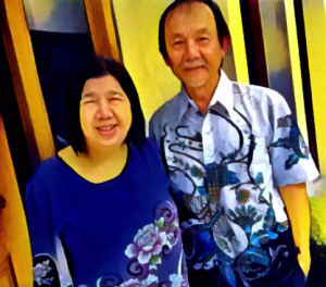 (Capture of Raymond Koh and his wife, courtesy TheStar.com)