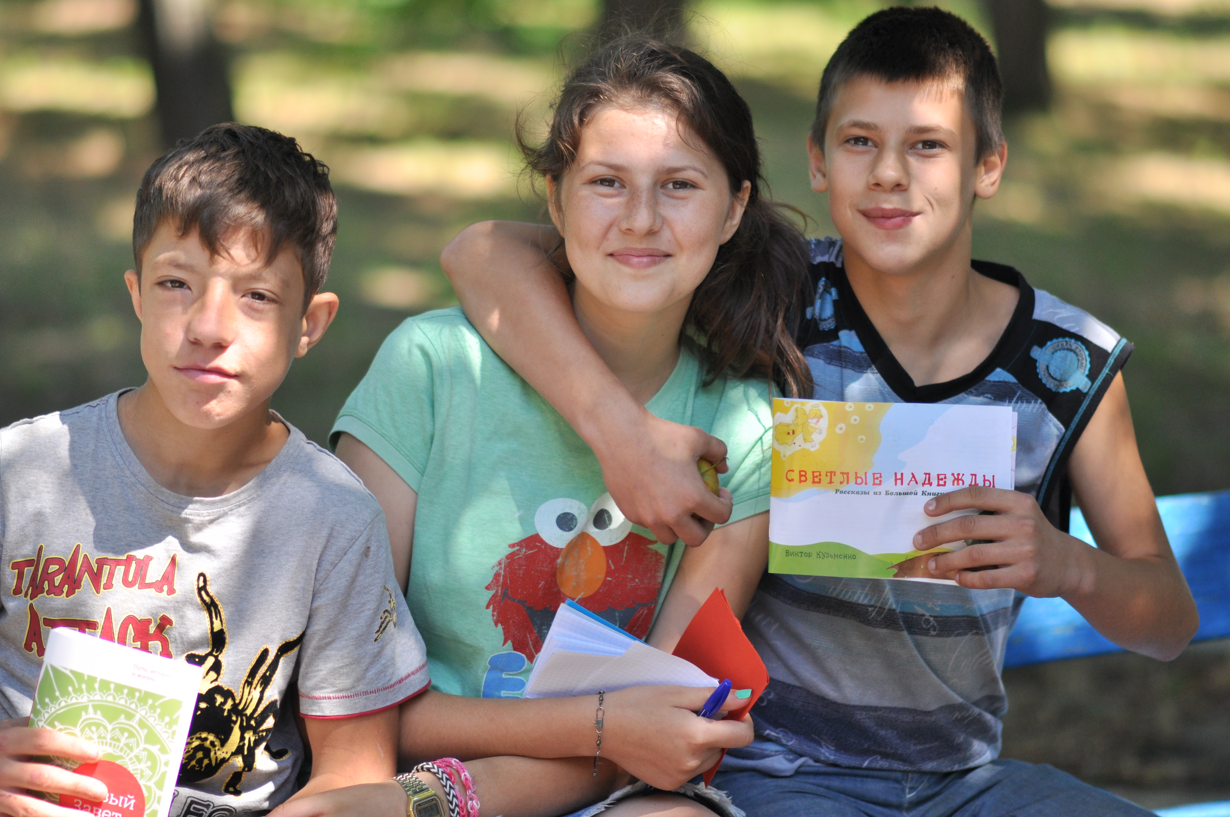 Ukraine kids camp sees 83 commitments to Christ, potential church plant