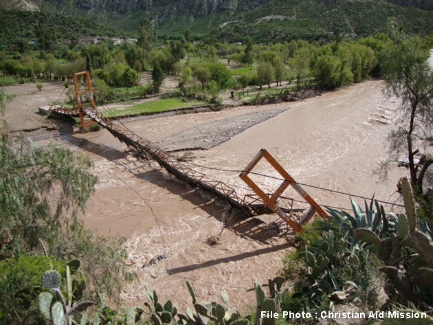 Peru suffers worst floods in over two decades, local ministry responding