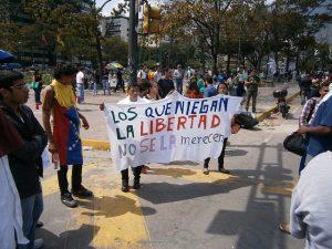 Continúan las protestas en una Venezuela en crisis