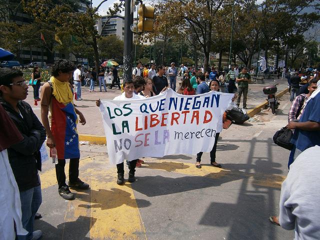 Protests continue in crisis-swamped Venezuela