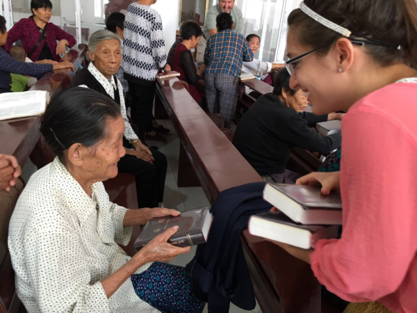 Getting Bibles into the hands of Chinese Christians