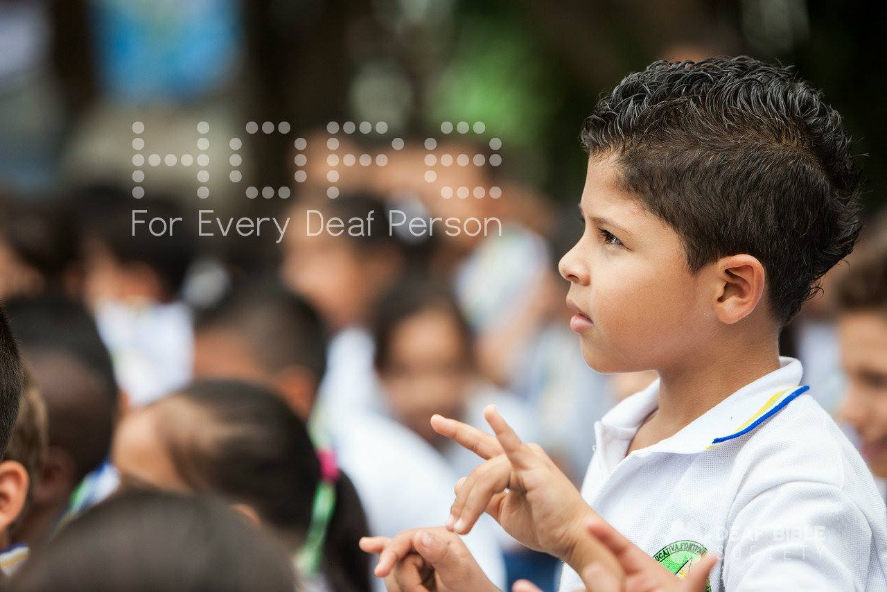 Deaf Bible outlines objectives for future Deaf ministry