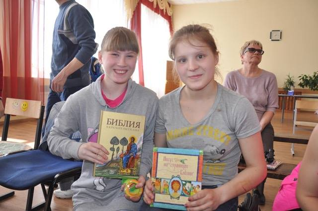 Baskets of Hope for children in Russia