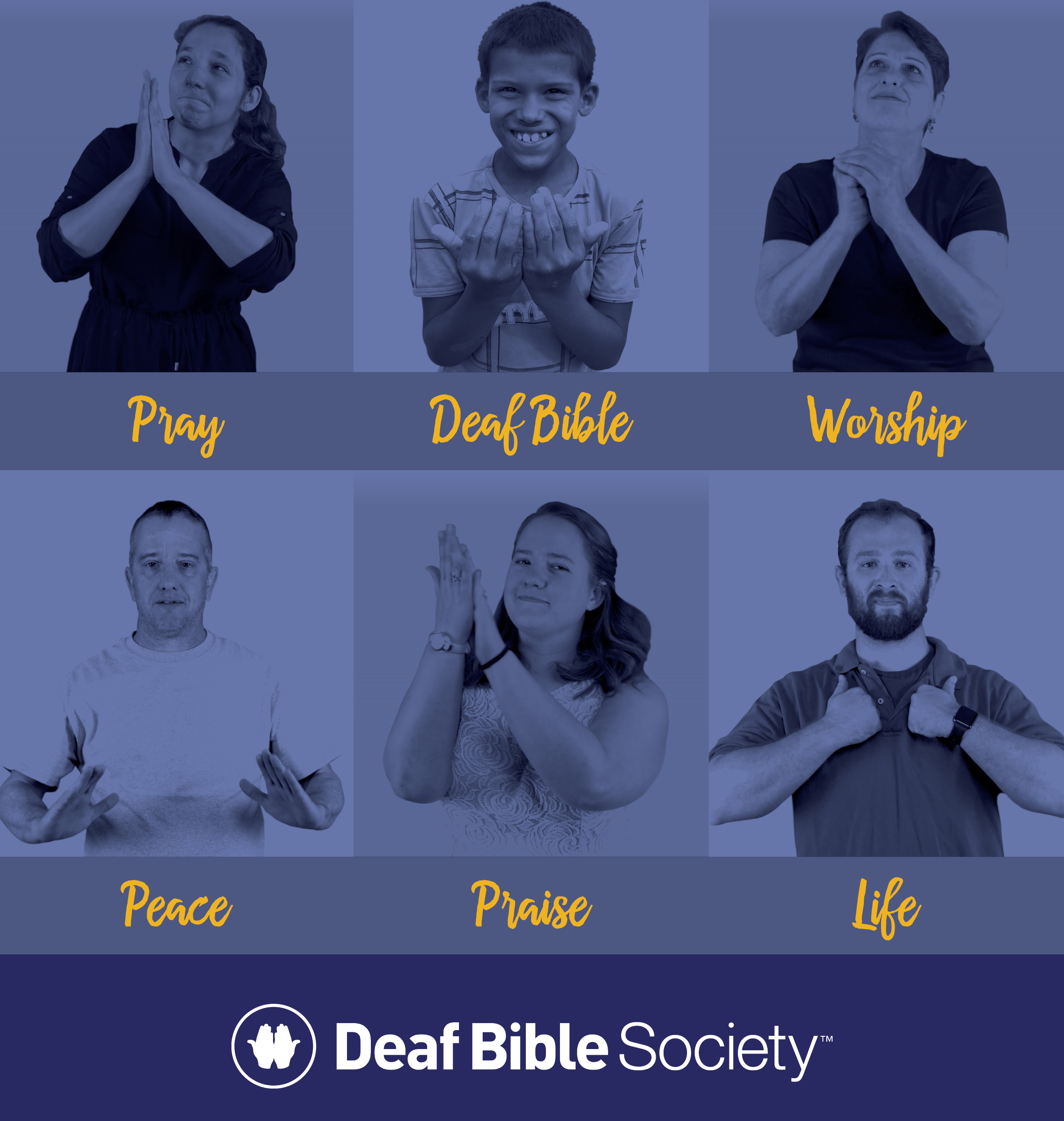 Deaf Bible offers free digital wallpapers to spur prayer, advocacy