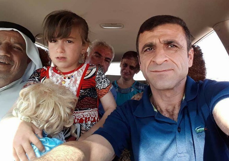 Young girl kidnapped by ISIS three years ago reunited with family