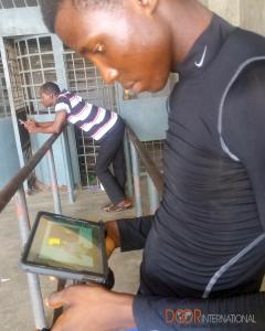 DOOR_Watching CBT in Nigerian Sign Language