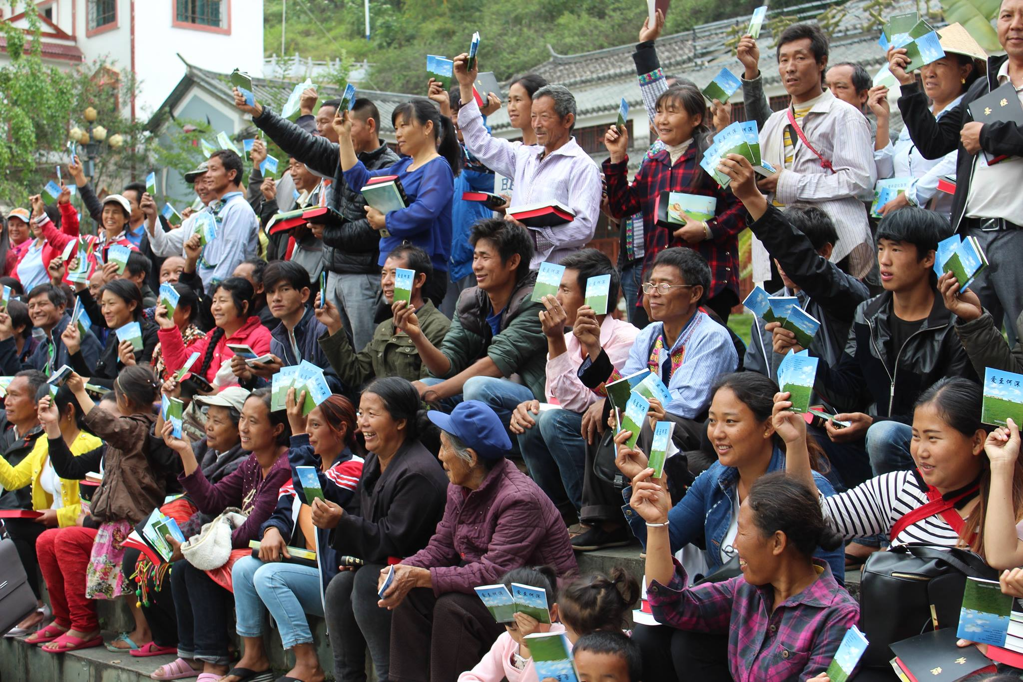 Hallmark trip to China sees legal distribution of Bibles