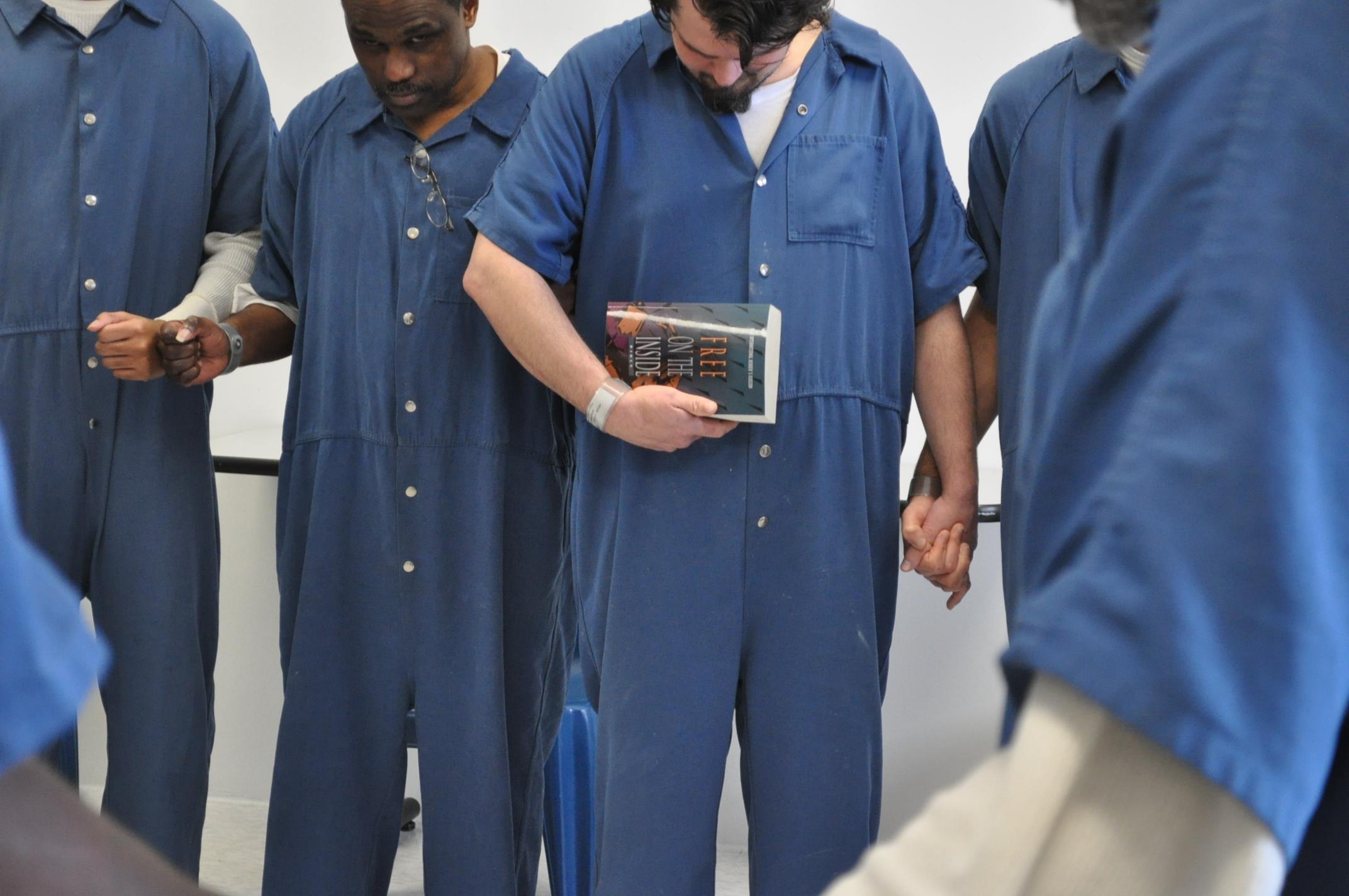 Spiritual freedom through prison ministry