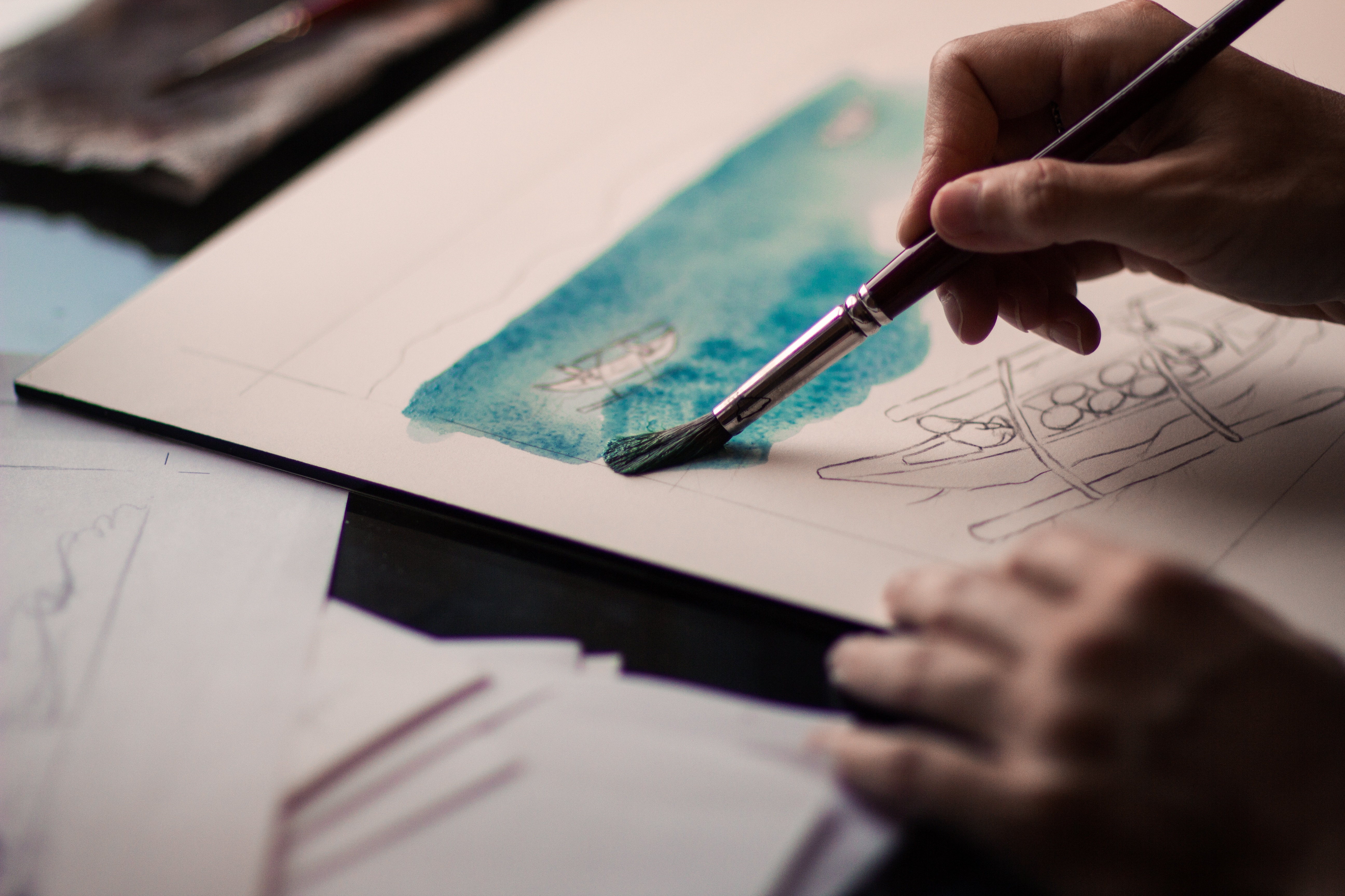Art therapy leads to Gospel conversations
