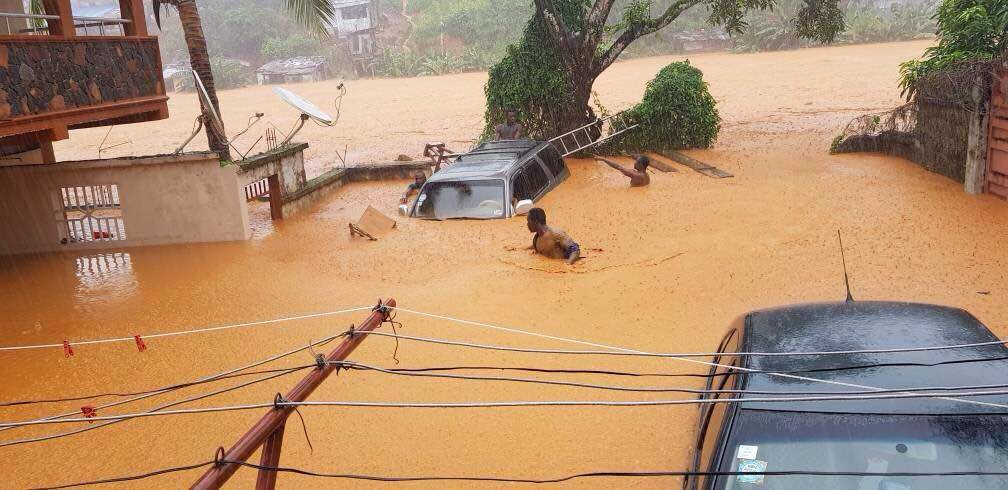 Hundreds dead, missing in Sierra Leone's devastating floods
