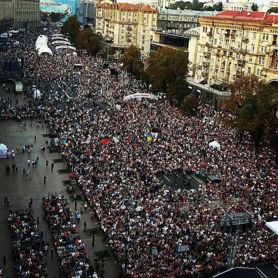 500,000 Ukrainians gather to celebrate reformation and God's faithfulness