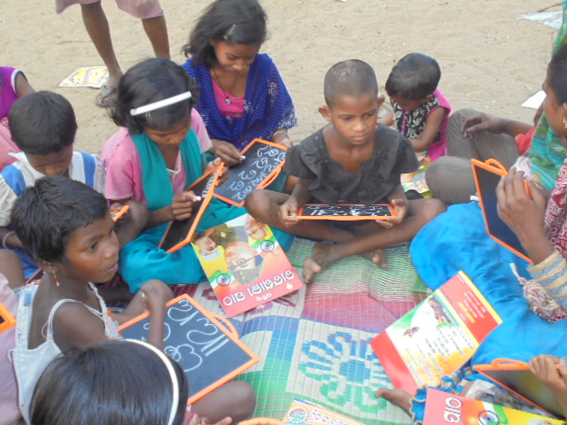 Literacy changes lives for children in India