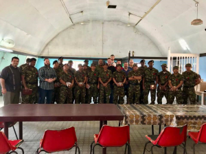 Ministering to the Belize Military